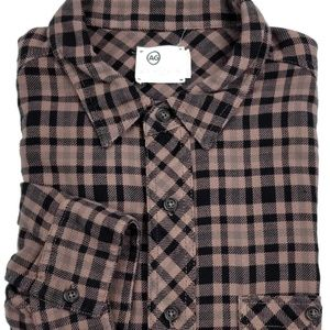 AG Adriano Goldschmied Plaid Check Shirt Sz Large